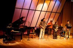 Alumnos de la Escuela de Jazz