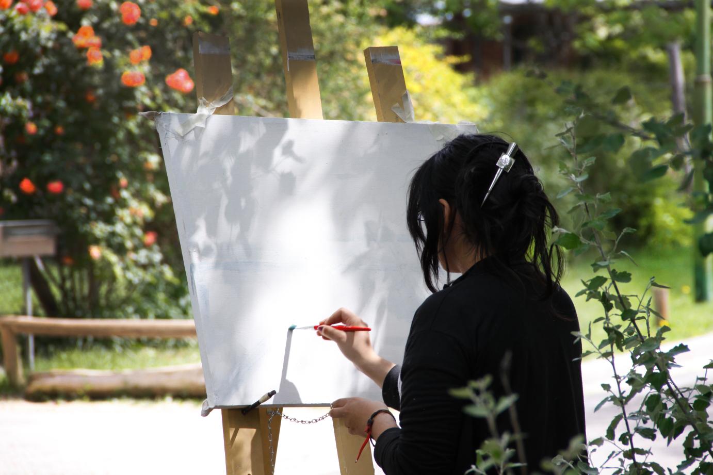 clase de pintura