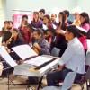 El Coro en una presentación en Regina.