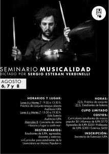 seminario musicalidad