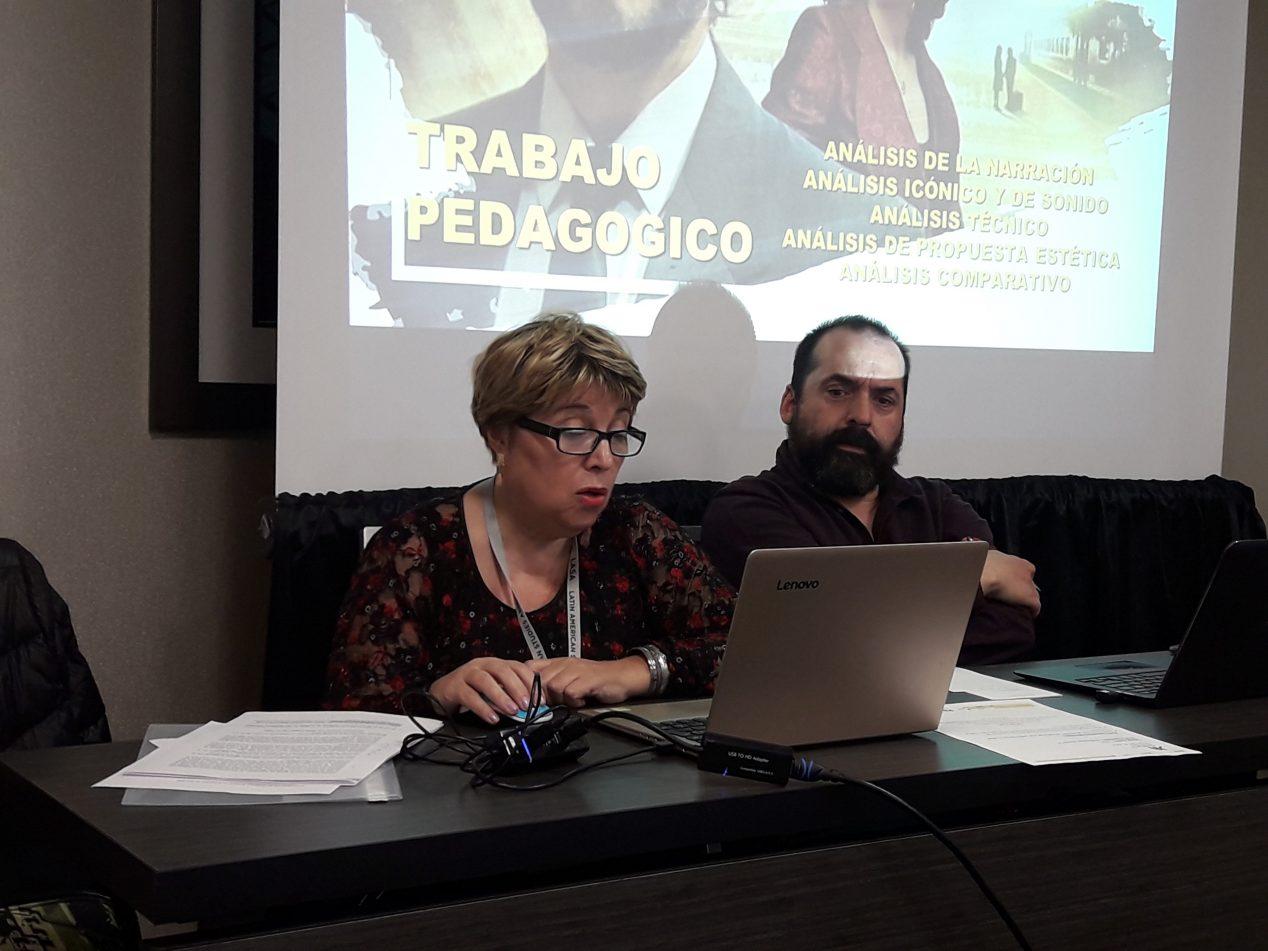 Stella Maris Poggian, investigadora de IUPA, en Boston, Estados Unidos