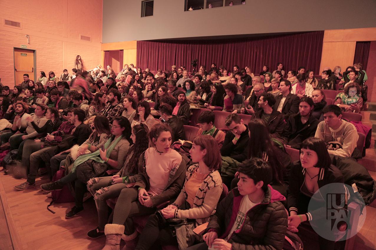Sala llena en el anterior Festival de Teatro