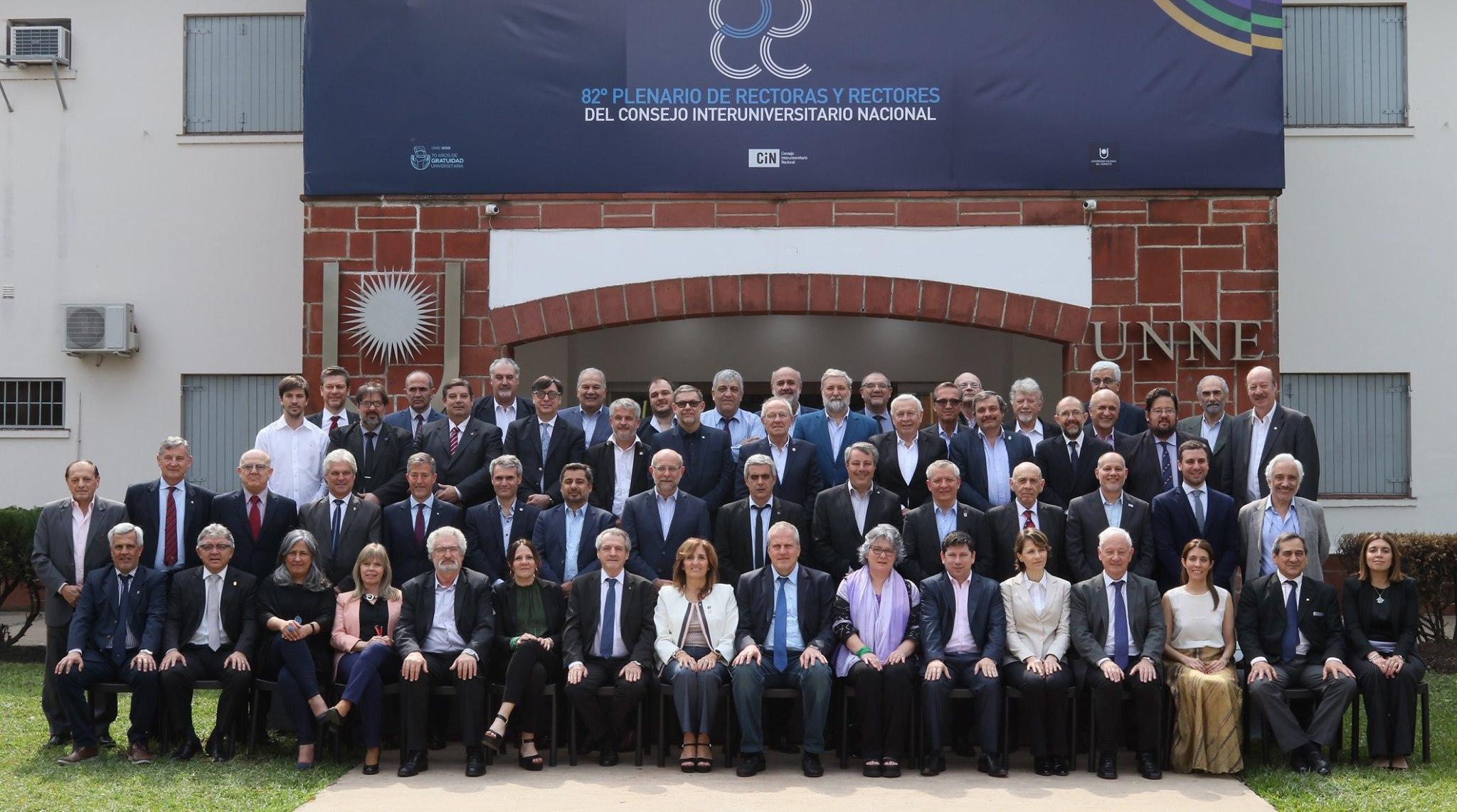 Foto Plenario rectores CIN