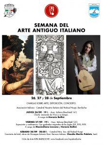 flyer Arte Antiguo Italiano