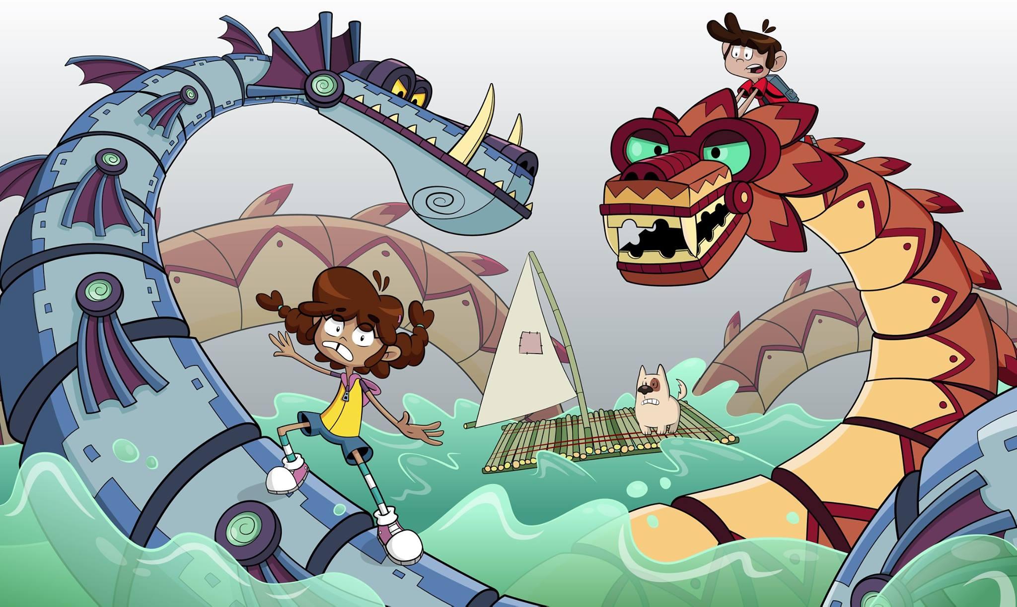 imagen de Alén, serie animada
