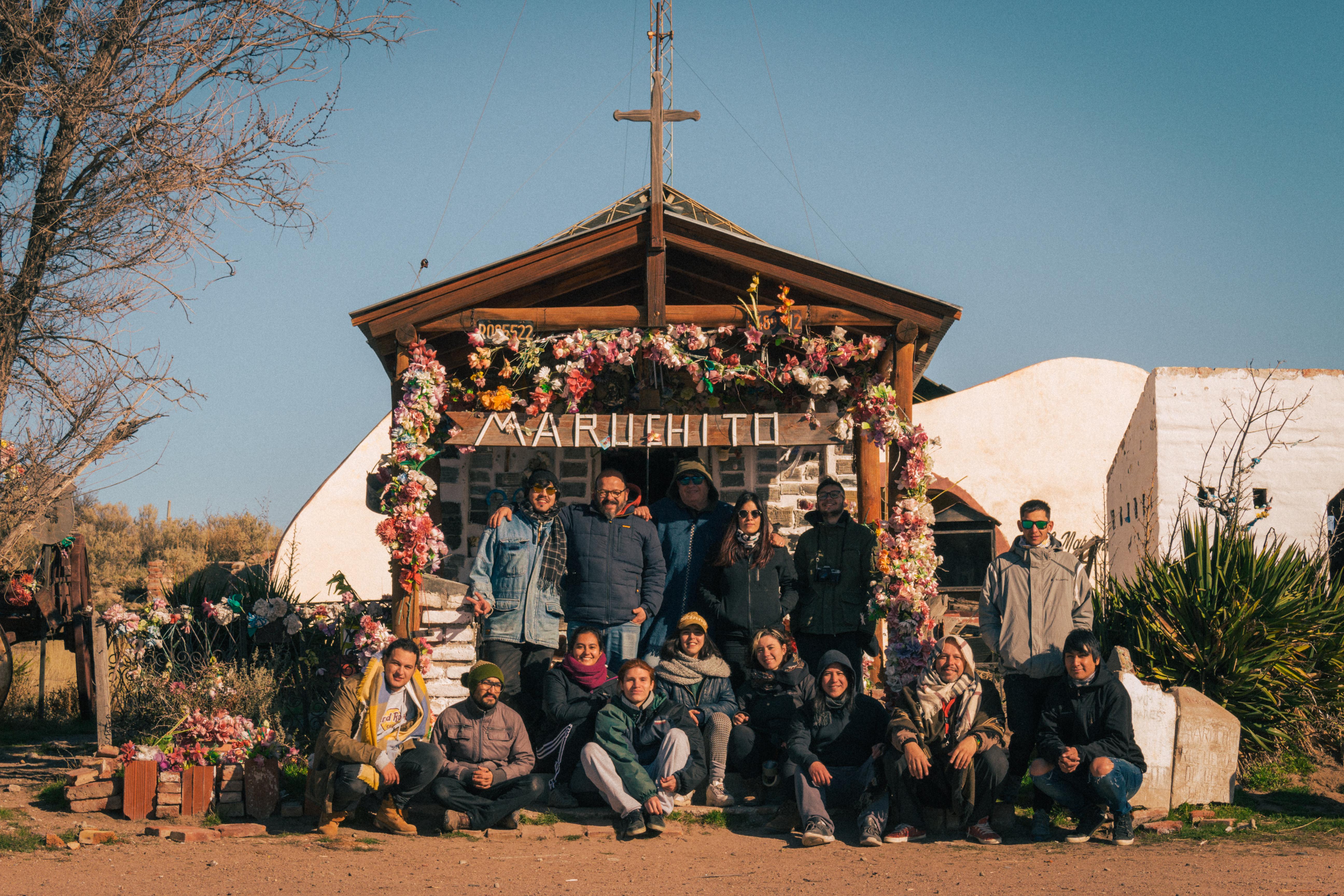 equipo de rodaje de La Pasión del Maruchito