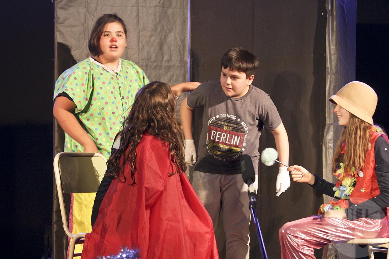 estudiantes Trayectos de Teatro