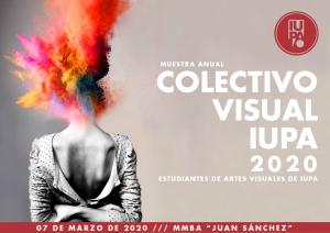 flyer muestra colectivo visual