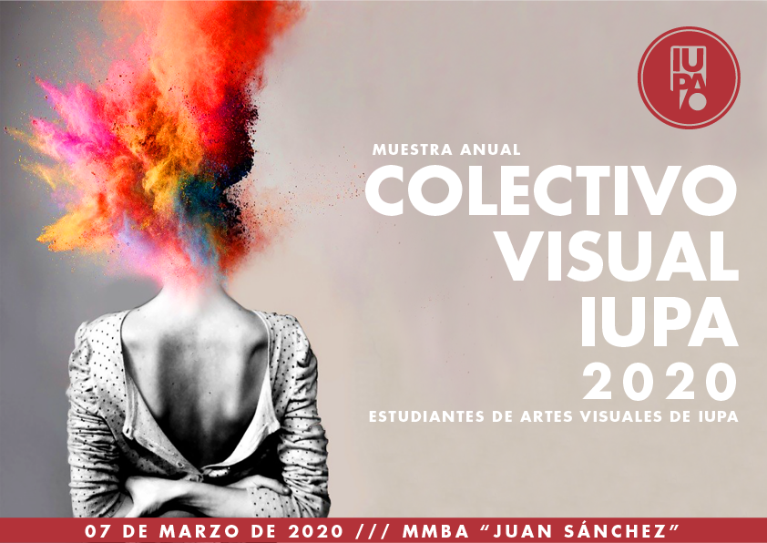 flyer muestra colectivo visual