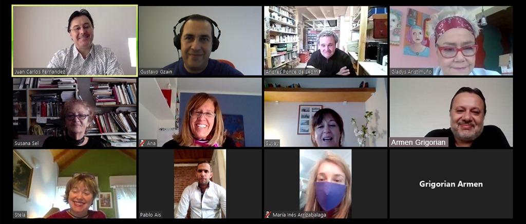 captura pantalla reunión Fadecs IUPA