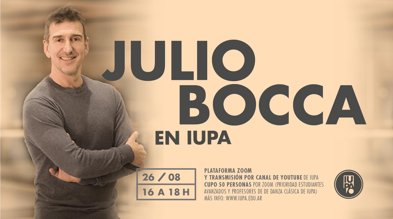 Julio Bocca en IUPA