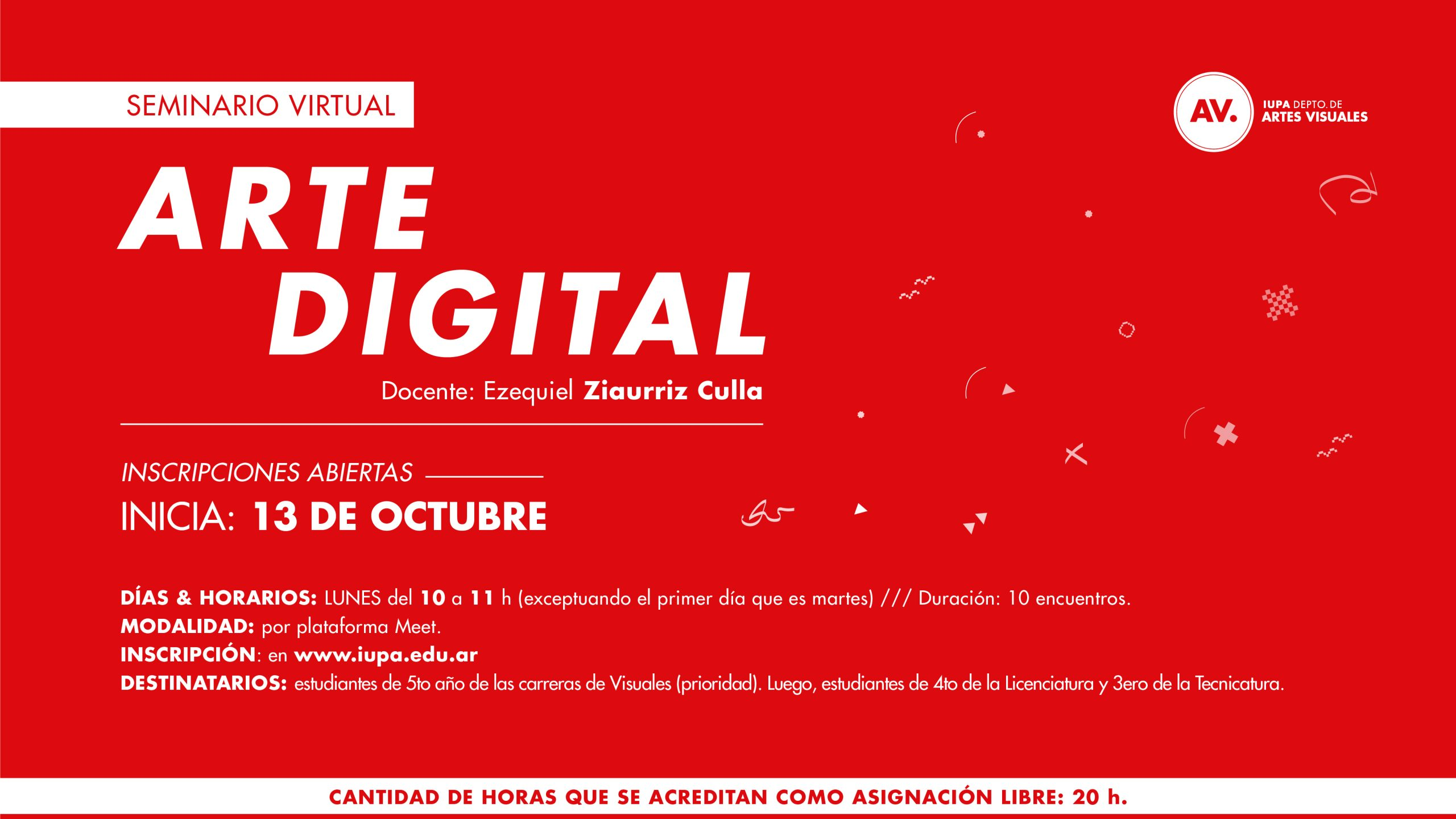 flyer arte digital