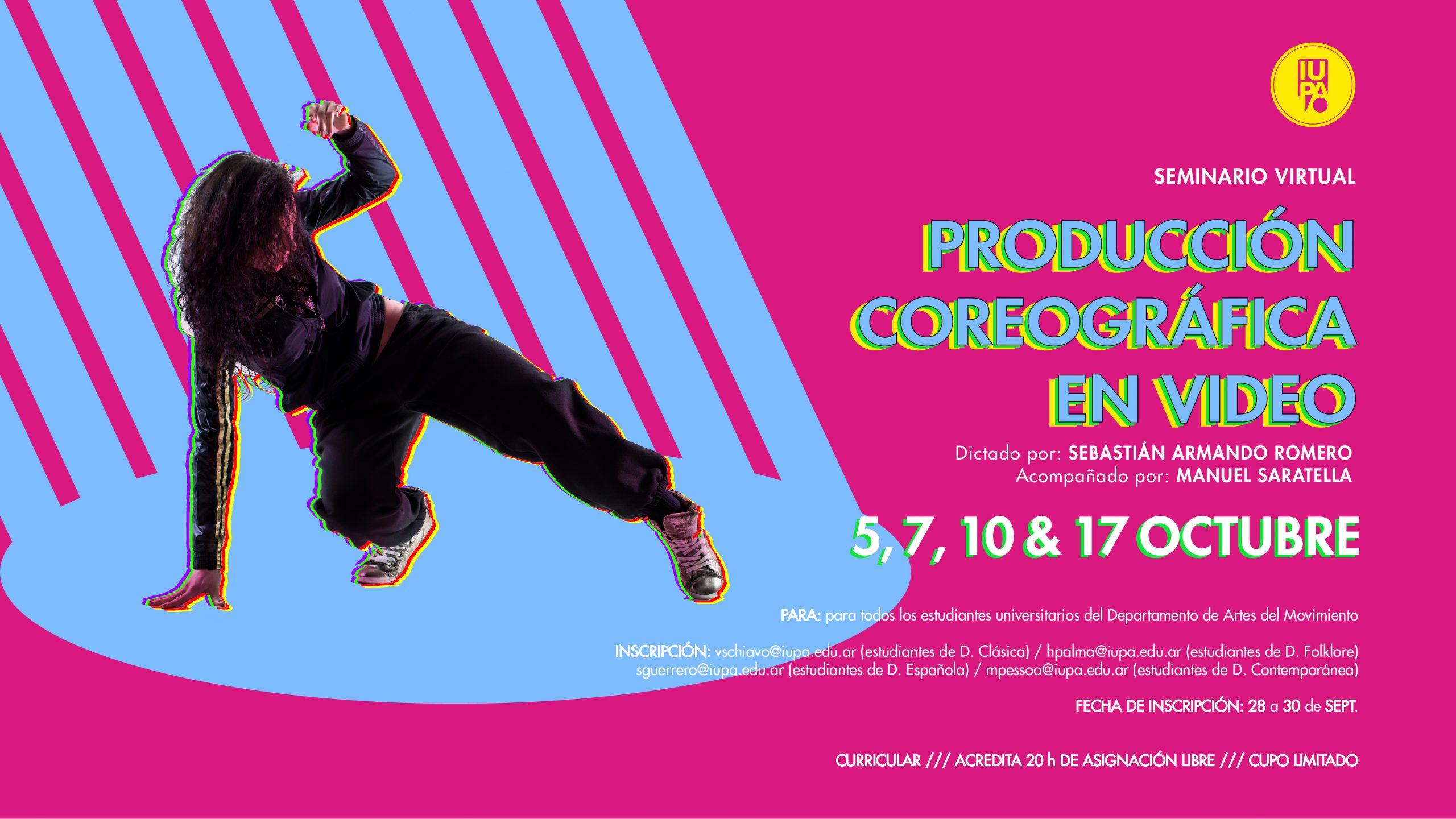 Flyer prod coreografica