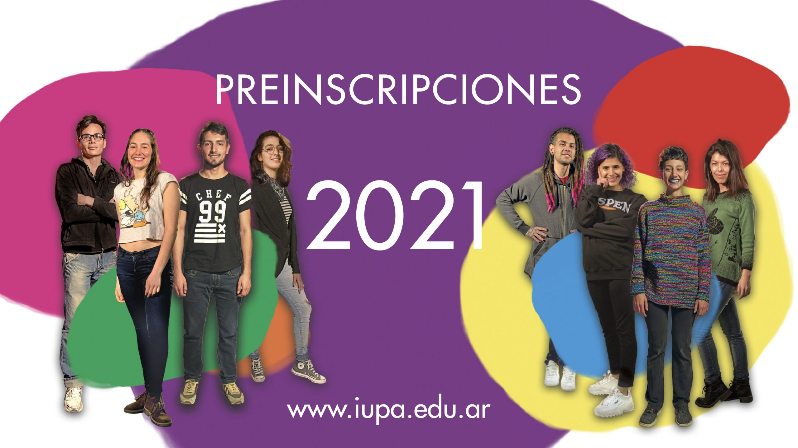 flyer preinscripciones 2021