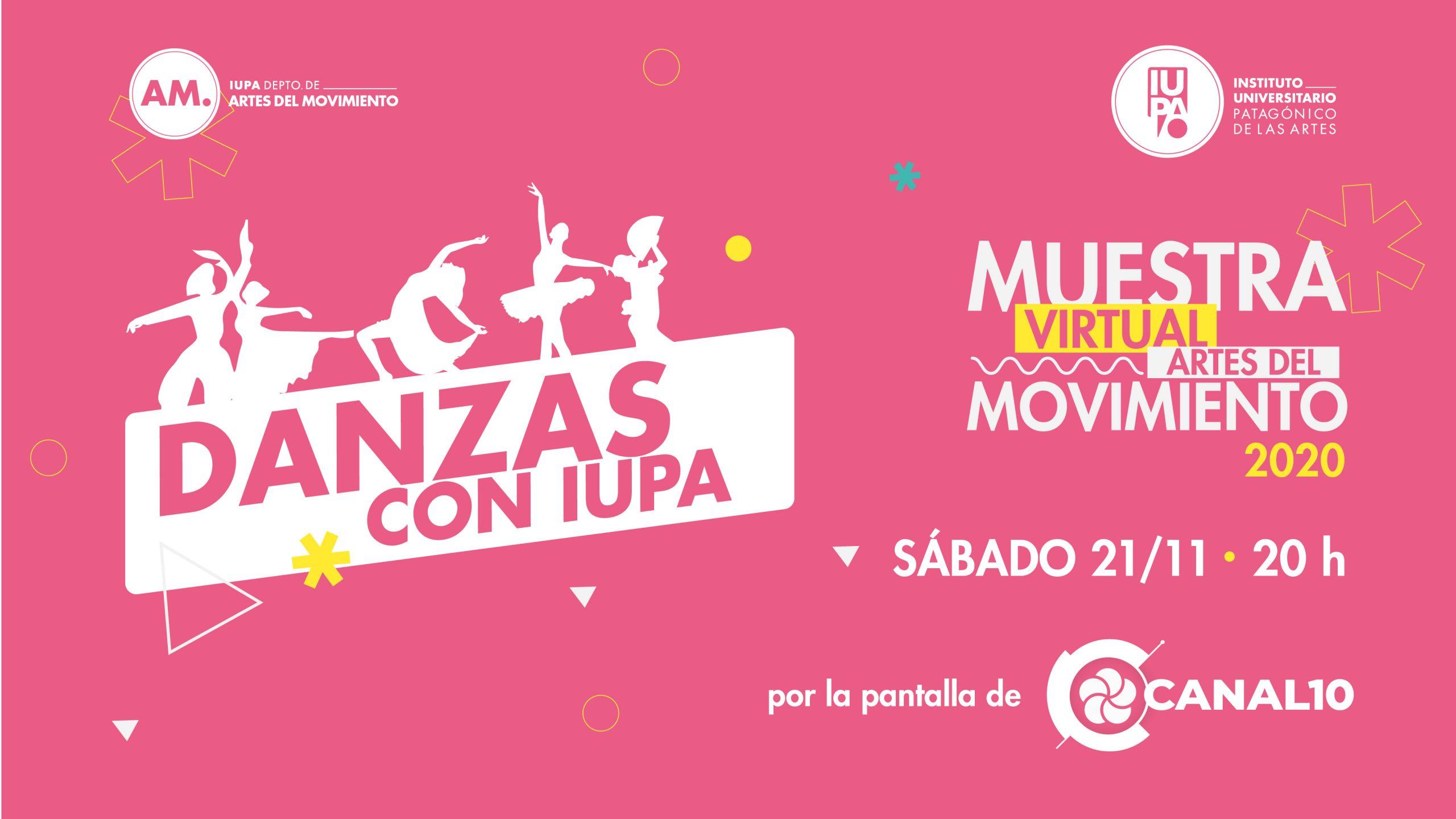 flyer Danzas con IUPA muestra final