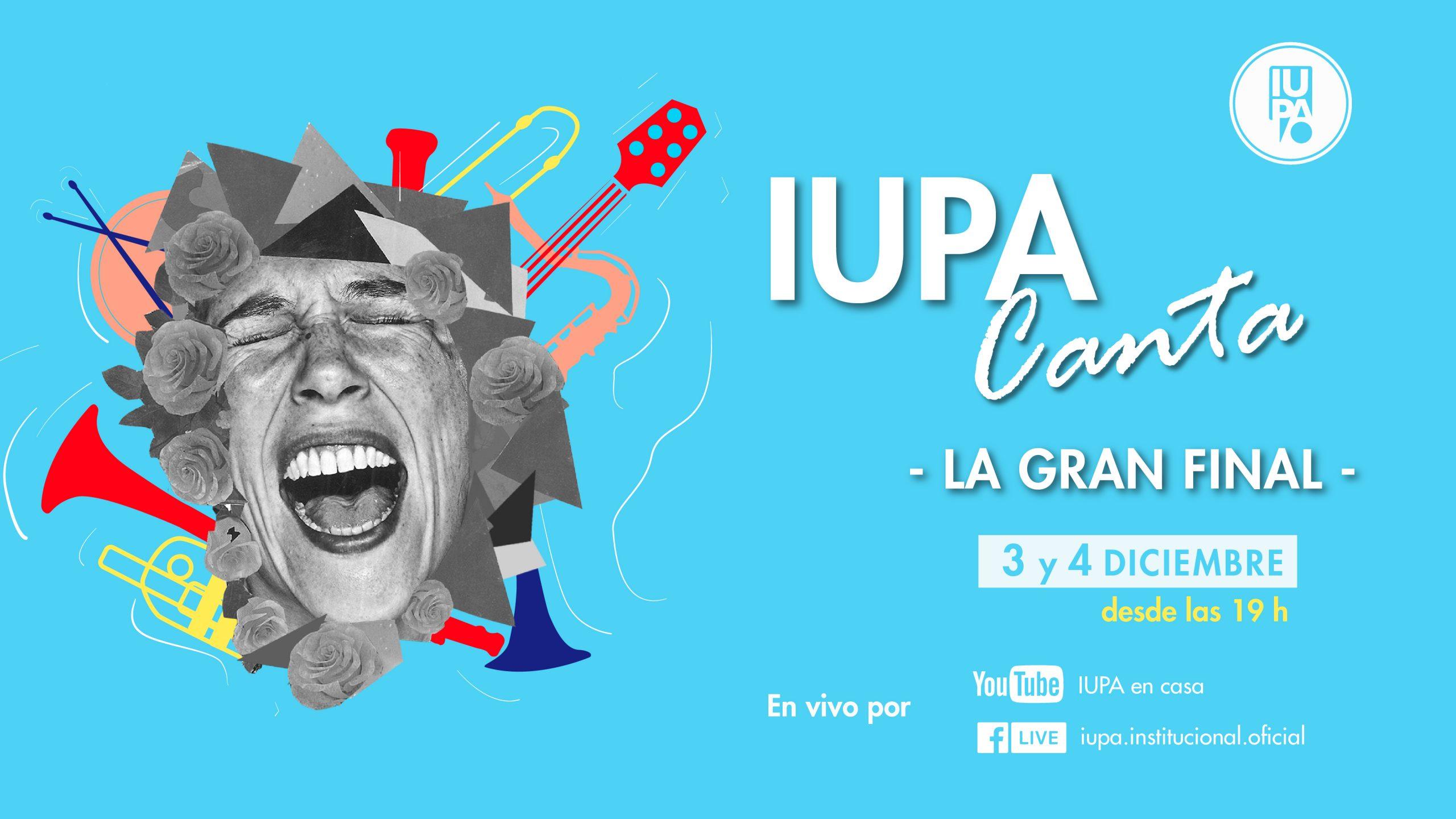 flyer gran final IUPA Canta