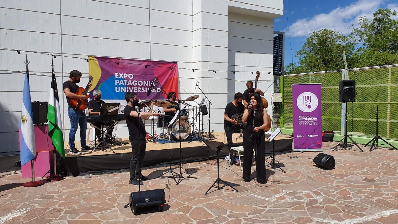 inauguración Expo, docentes CLAP