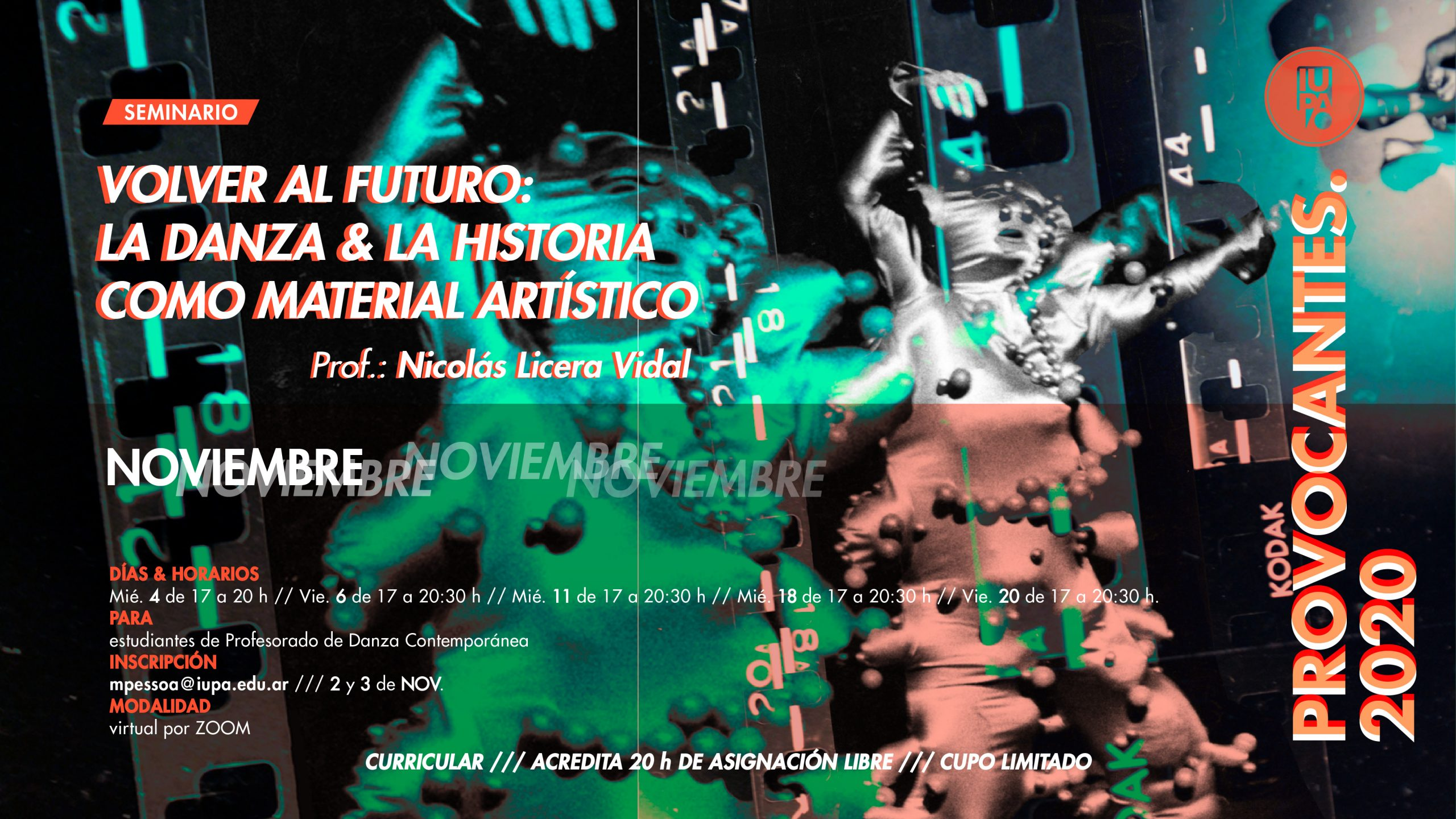 flyer Seminario Licera Vidal