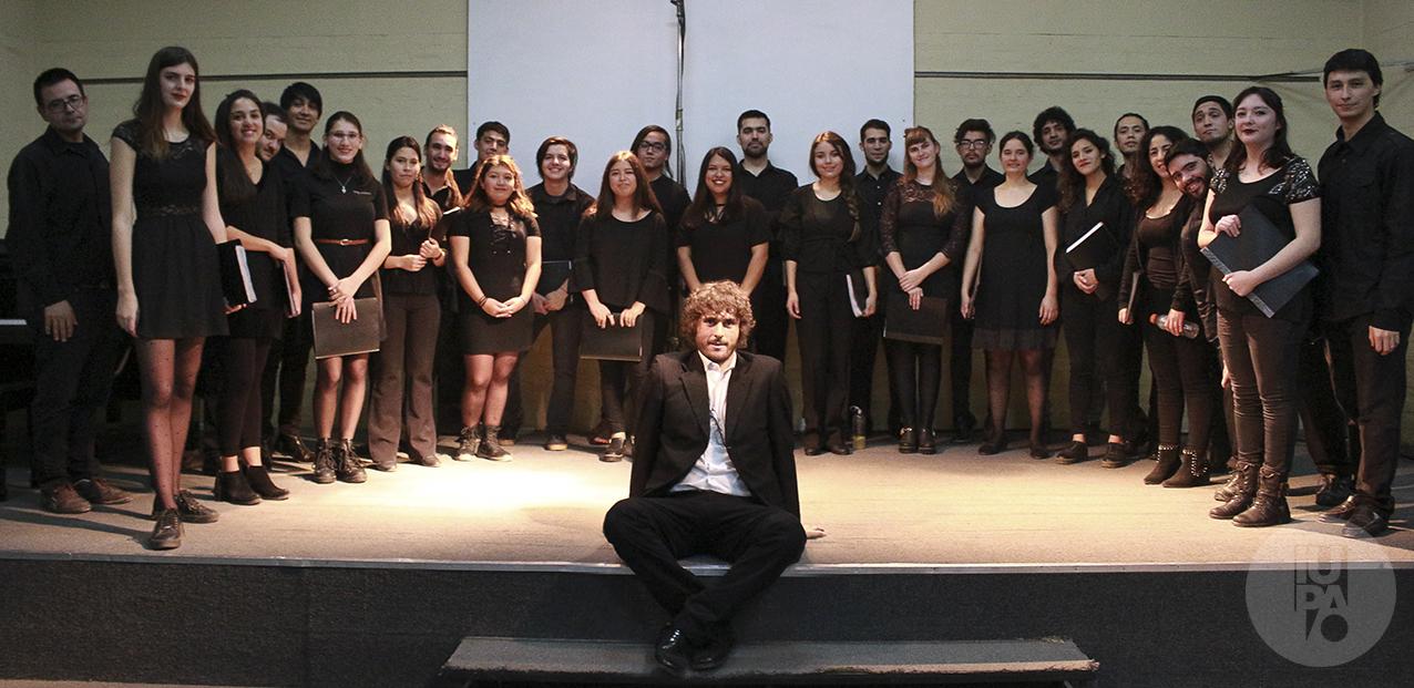 Coro del IUPA presentación junio 2019