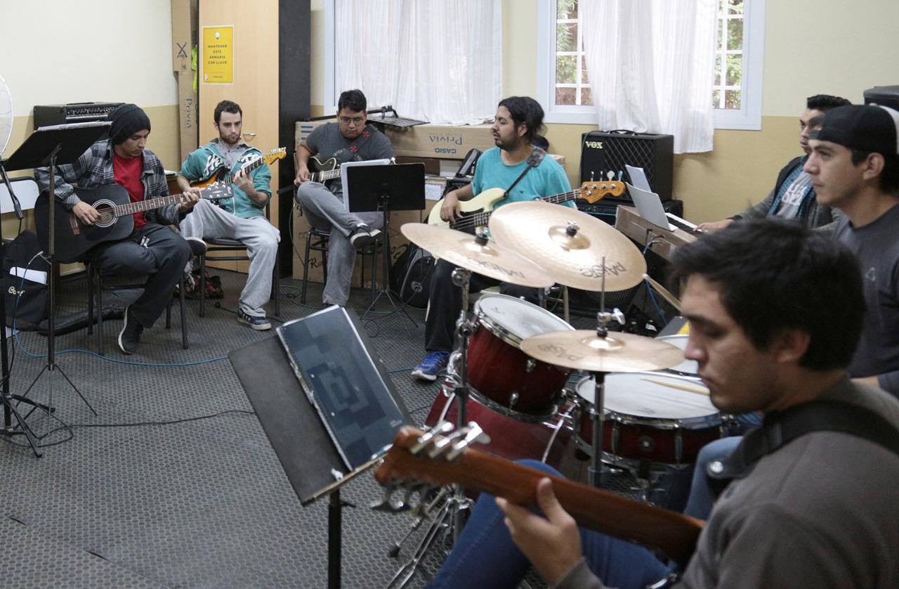 práctica de conjunto Música Popular
