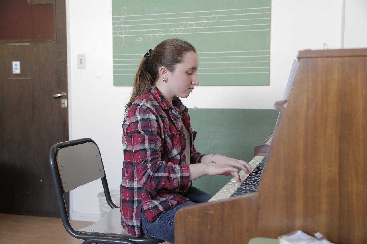estudiante de CFM piano