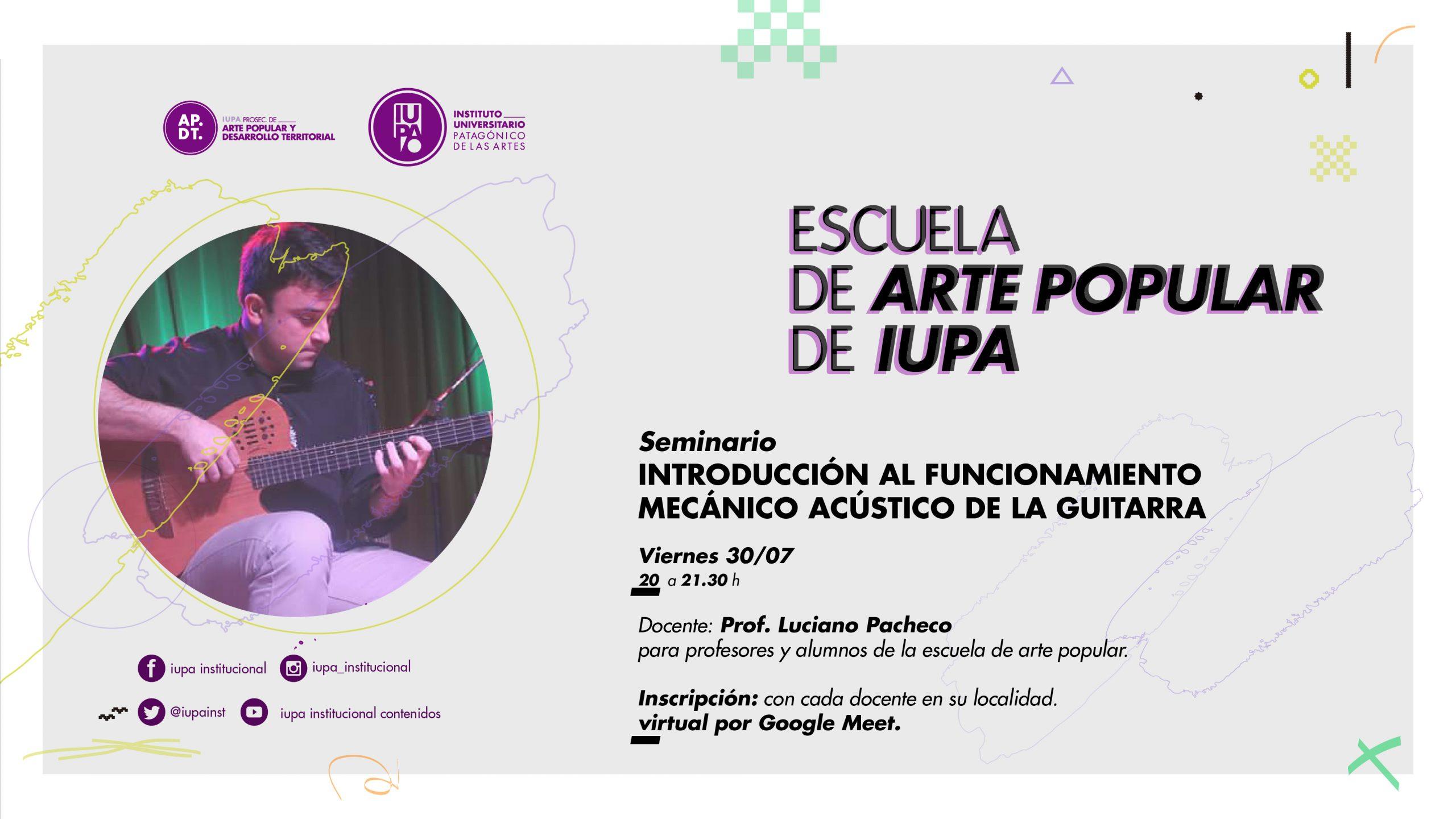 seminario guitarra EAP