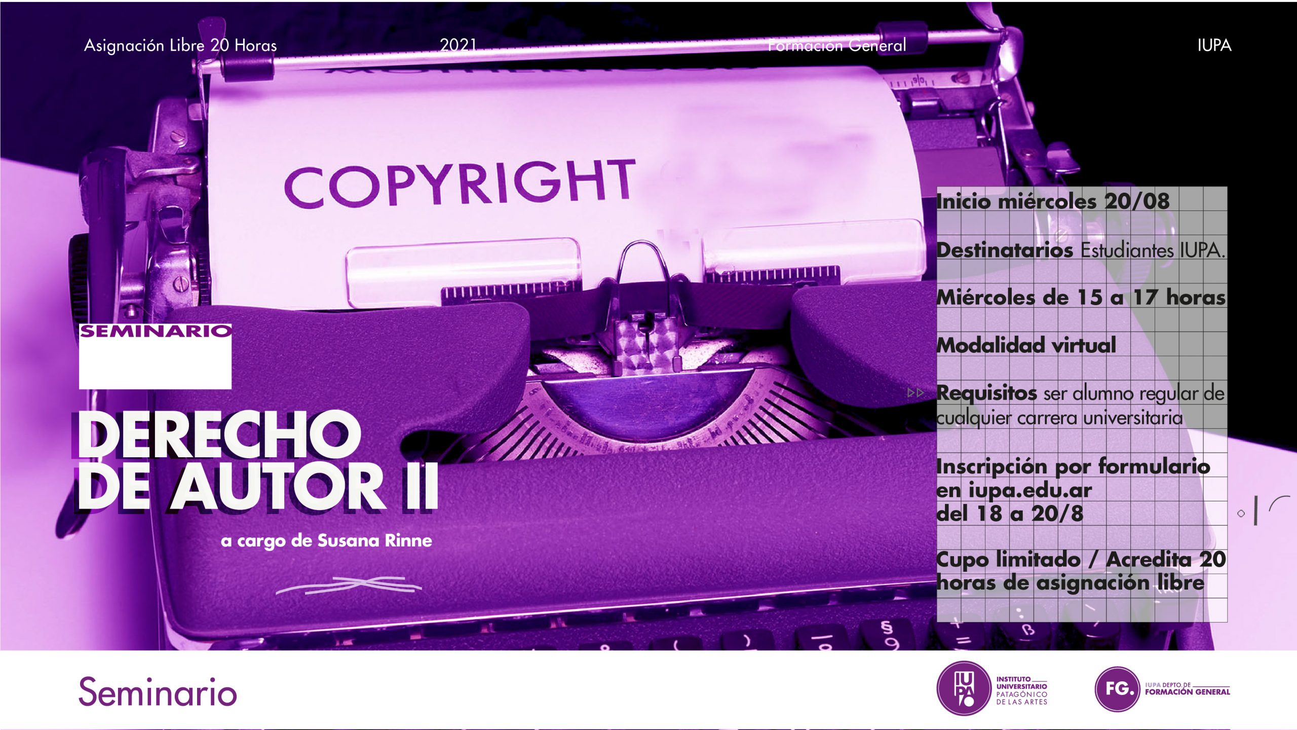 derecho de autor seminario 2
