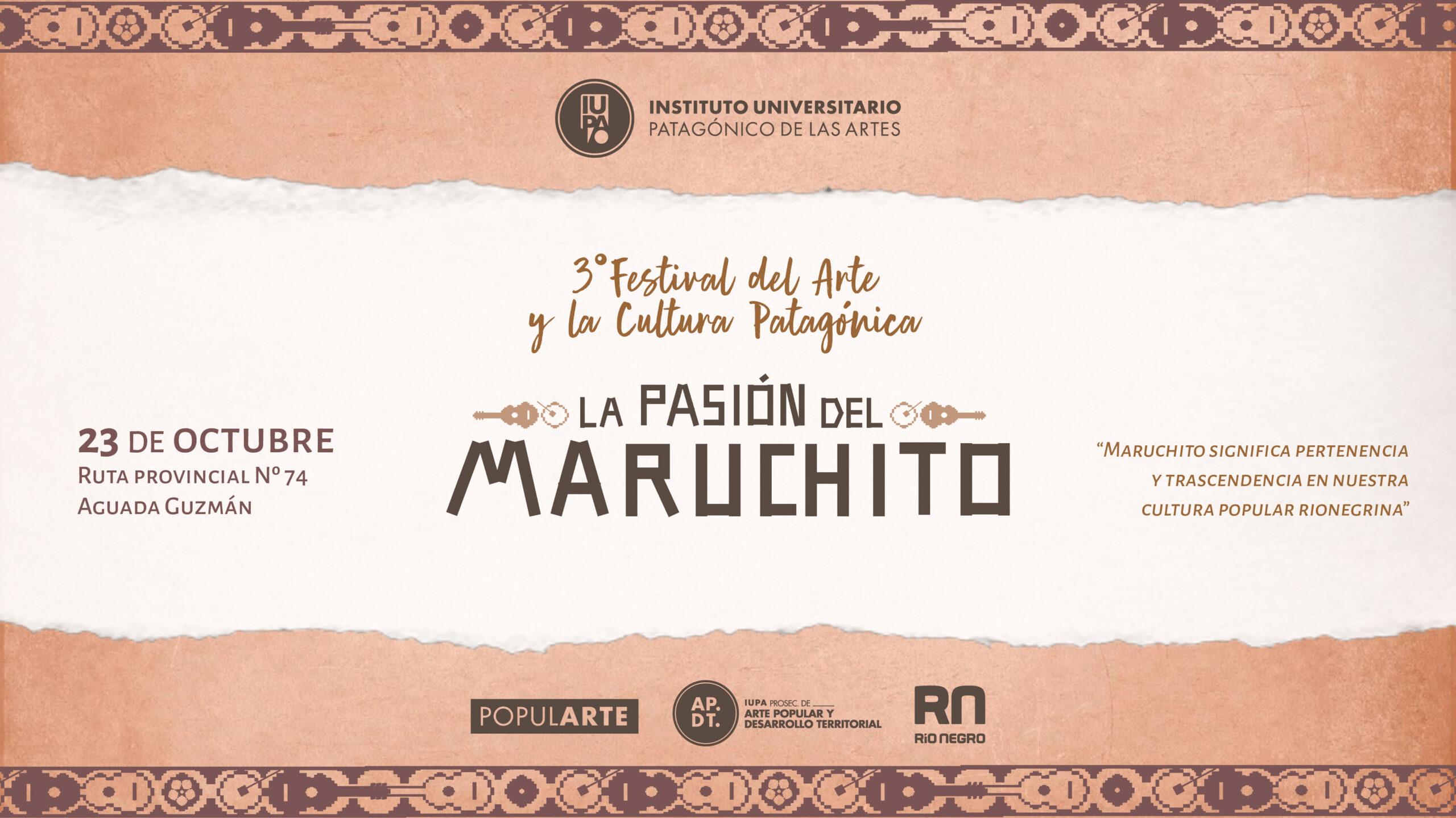 Póster La Pasión del Maruchito festival