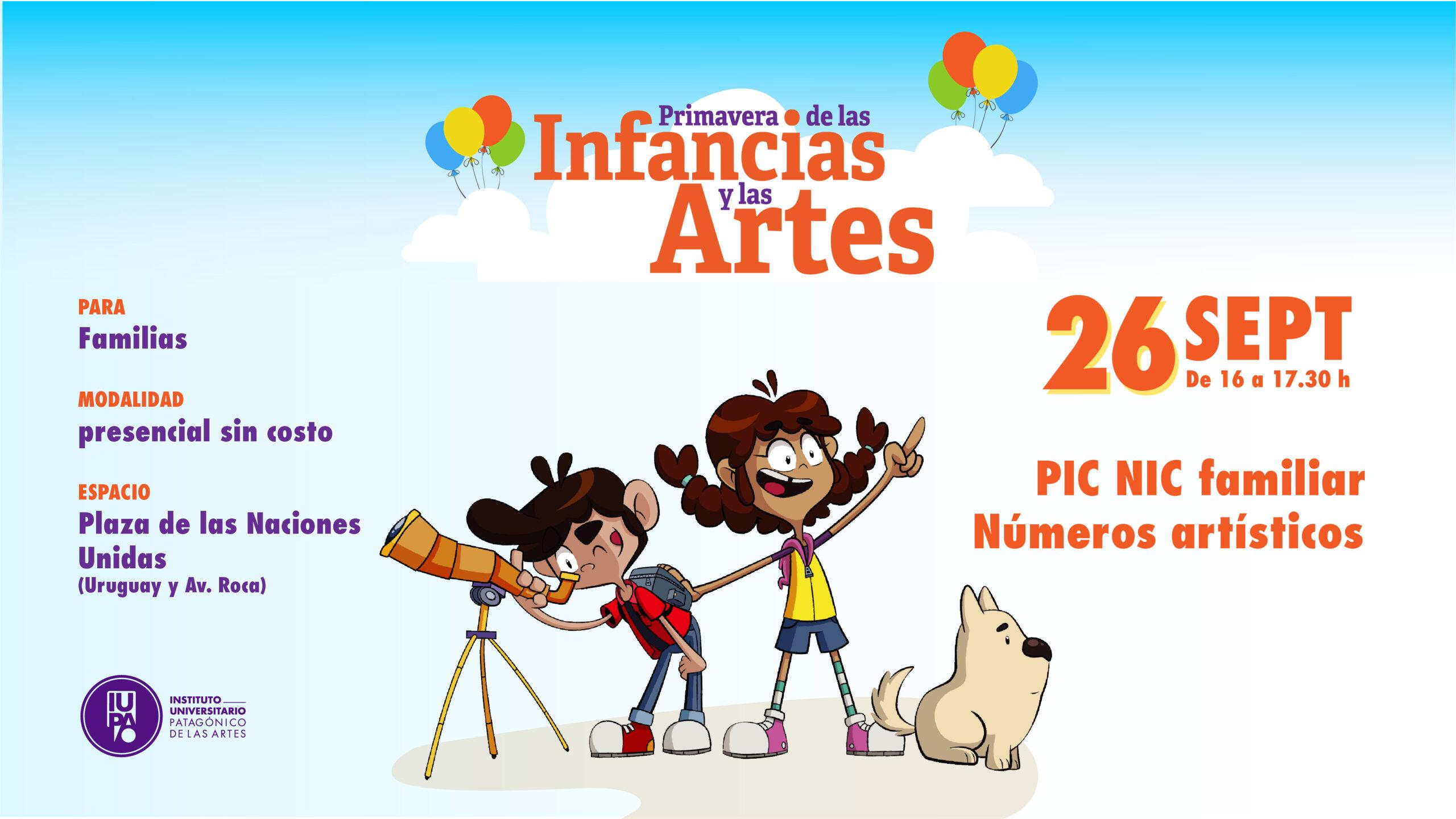 Primavera Infancias y Artes