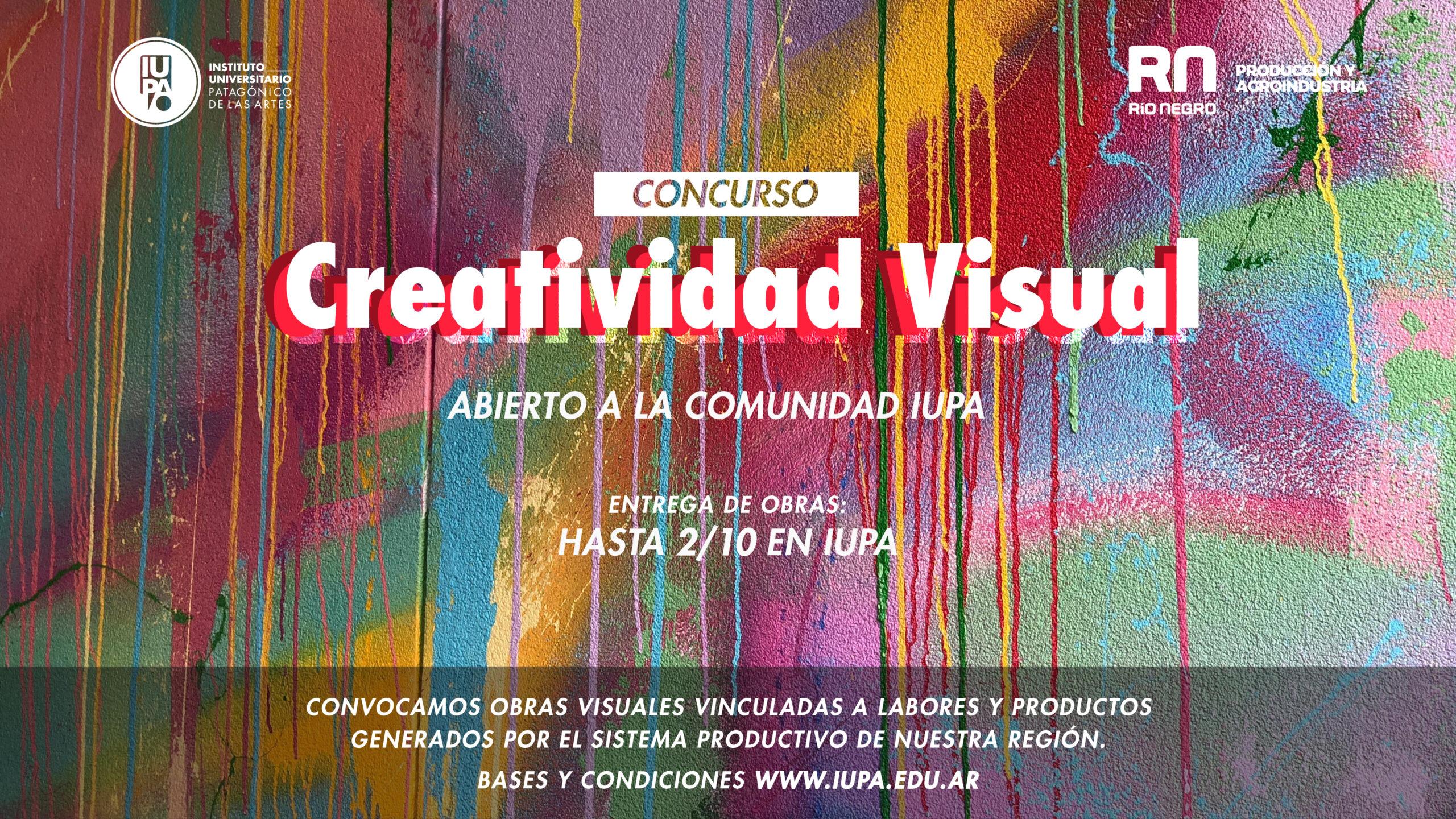 flyer concurso creatividad